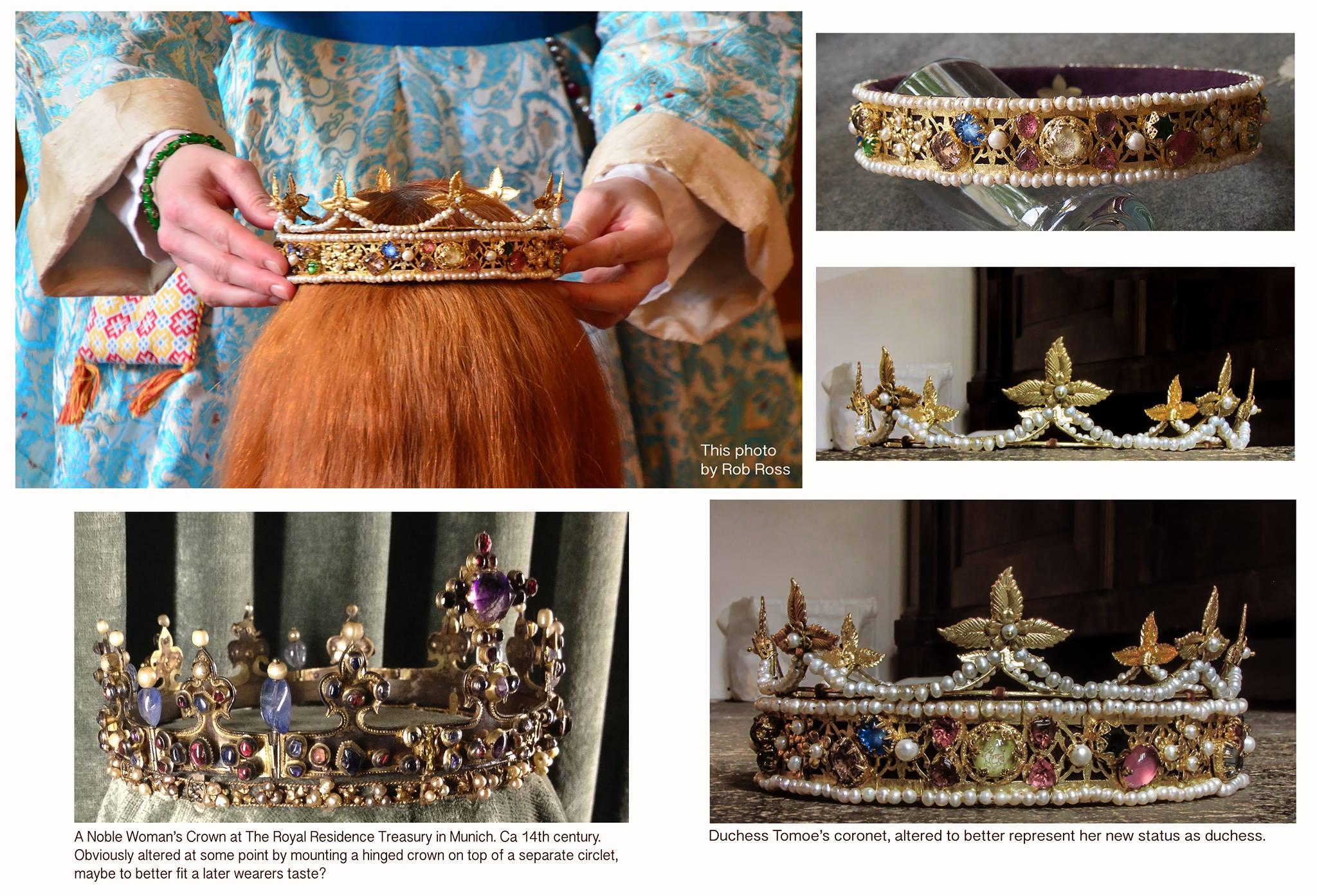 Adelskrone für eine SCA-Duchess von Baronin Estrid