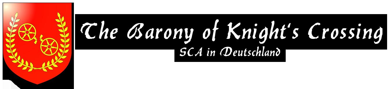 Die Baronie Knight's Crossing - SCA in Deutschland