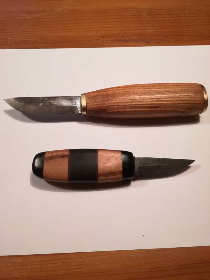 Zwei Messer von Lord Leofric von der Ertheneburg